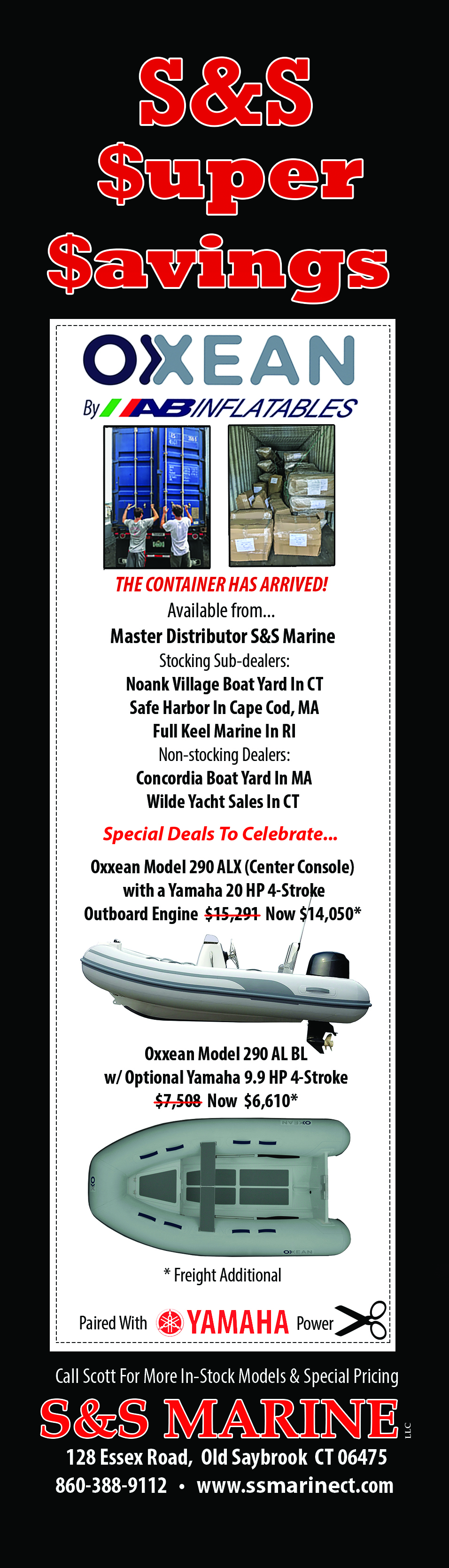 S&S Marine LLC | S&S Marine LLC Old Saybrook CT 860-388-9112